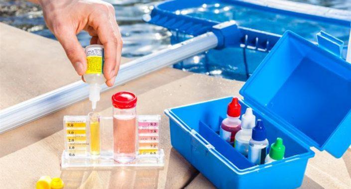 Cuidados básicos no tratamento de piscinas.